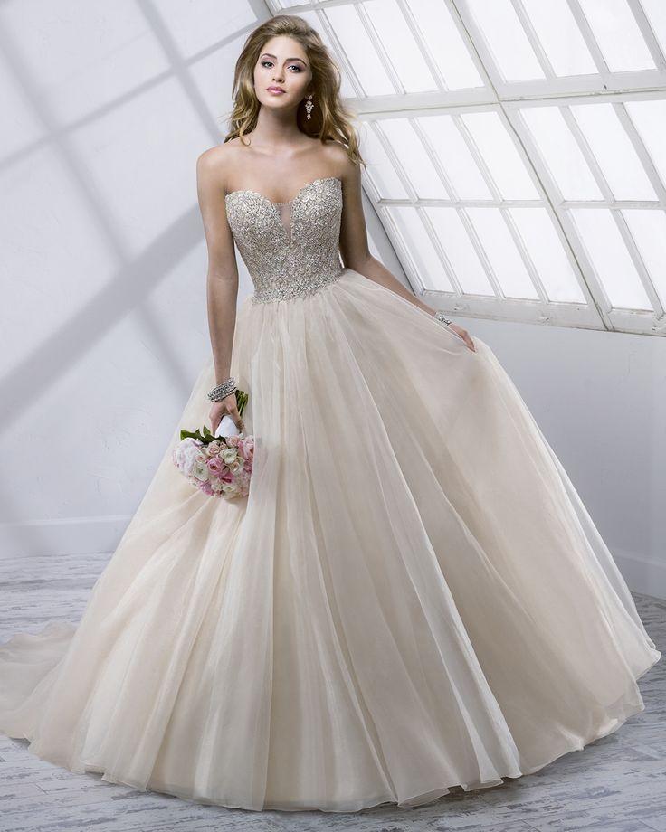 Vestido de Noiva de Sottero and Midgley de Maggie Sottero (Angelette), coleção…
