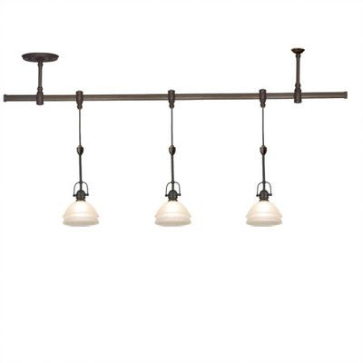 Sea Gull Lighting Trenton 3 Light Track Lighting Pendant Kit  sc 1 st  Pinterest & Best 25+ Pendant track lighting ideas on Pinterest | Kitchen track ... azcodes.com