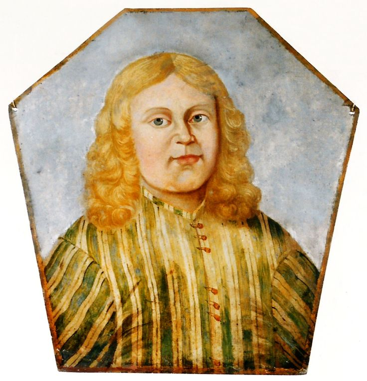 Coffin portrait of Zygmunt Bronikowski (1674-1681) son of Zygmunt lord of Kursk and Anna née Dziembowska by Anonymous Polish Painter, ca. 1681 (PD-art/old), Muzeum w Międzyrzeczu