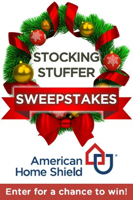 Need a little extra help for the holidays? American Home Shield may have you covered. Enter for a chance to stuff your stocking with a $500 gift card!