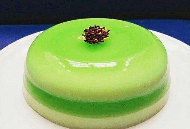 Resep puding hijau yang super simpel