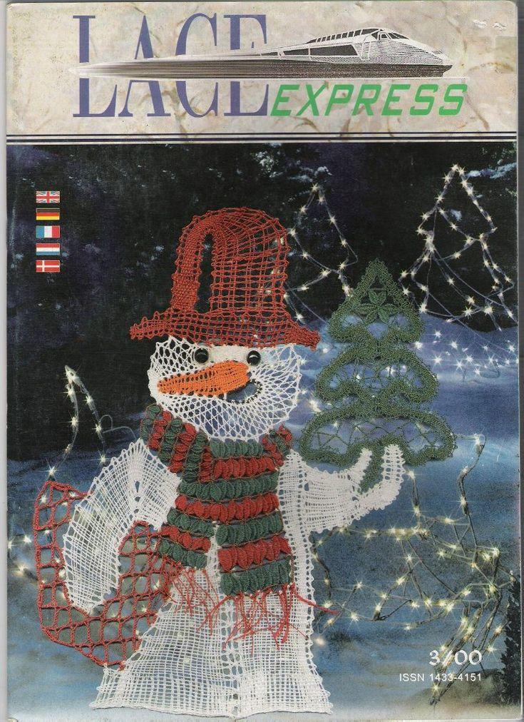 "Журнал ""Lace Express"" 2000 №3 – 52 fotografías | VK"