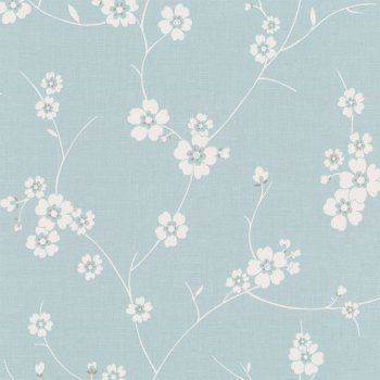 Blue And White Wallpaper For Walls Wall Murals Ideas - Duck egg blue bedroom wallpaper