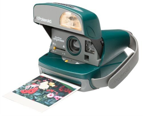 Polaroid One-Step Express Hunter Green Instant Camera Kit (includes Camera Bag and 600 Film) | My Canon Digital Camera