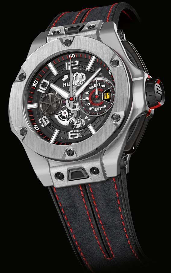 La Cote des Montres : La montre Hublot Big Bang Ferrari - Un partenariat jamais à cours d'imagination pour un restyling en tandem de cette collection iconique