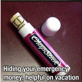 nascondere i soldi
