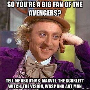 Black Panther, Quicksilver, Beast, Wonder Man, Namor, She-Hulk. The list goes on people.