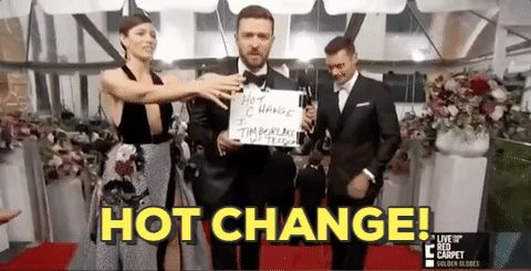 New party member! Tags: justin timberlake jessica biel hot change
