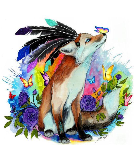 Amigos firmado Art Print por PixieColdArt en Etsy