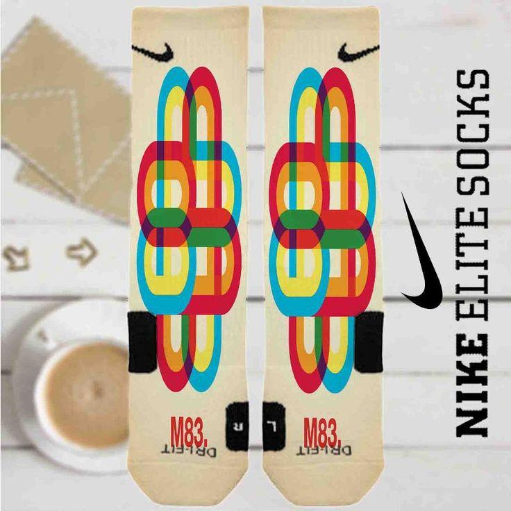 M83 Band Custom Nike Elite Socks
