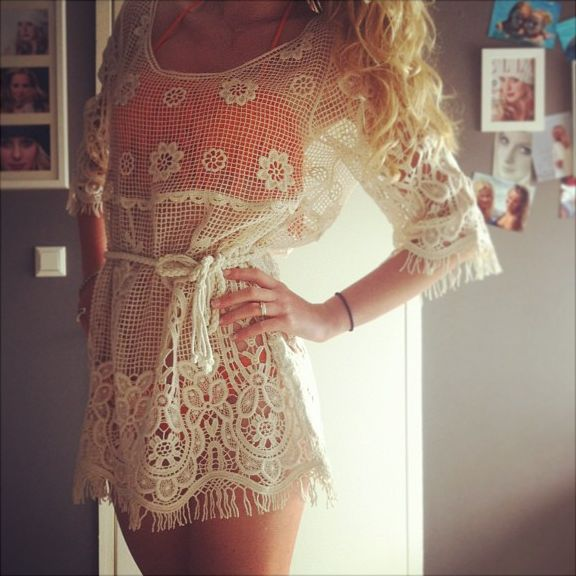 Swim Suit Cover Up. absolutely. adorable.