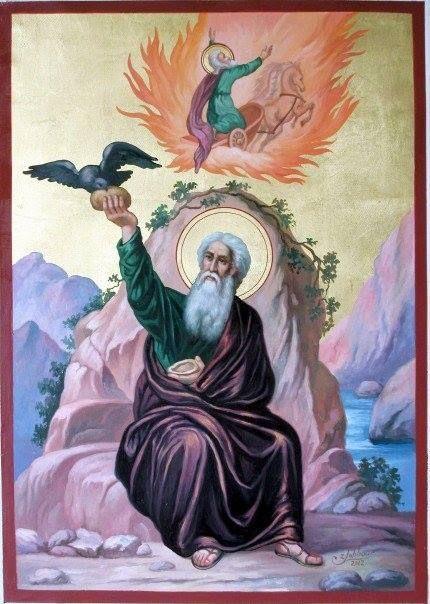 † Holy Glorious Prophet Elias (Elijah) (9th c. BC)