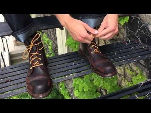 Normandy - Lace-up Derby Boot by Allen Edmonds  350. Recraftable. Consider factory seconds...cheaper.