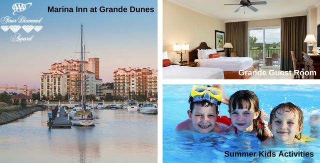 This is Why Kids Rule at Marina Inn at Grande Dunes. Stay, Play & Eat Free!  Family friendly fun is an important part of Marina Inn in Myrtle Beach! Families return each year for our summer Kids Rule! program where Kids Stay, Play and Eat Free all Summer Long.  #best family vacation resorts #family hotels #family vacation #family vacation package #kid friendly hotels #kid friendly resorts #kids activities #kids eat free #marina inn #marina inn at grande dunes. myrtle beac