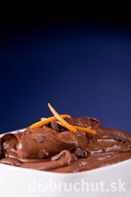 Čokoládovo-pomarančový krém