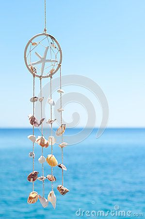Sea shell decoration in the village of Loutro, Crete