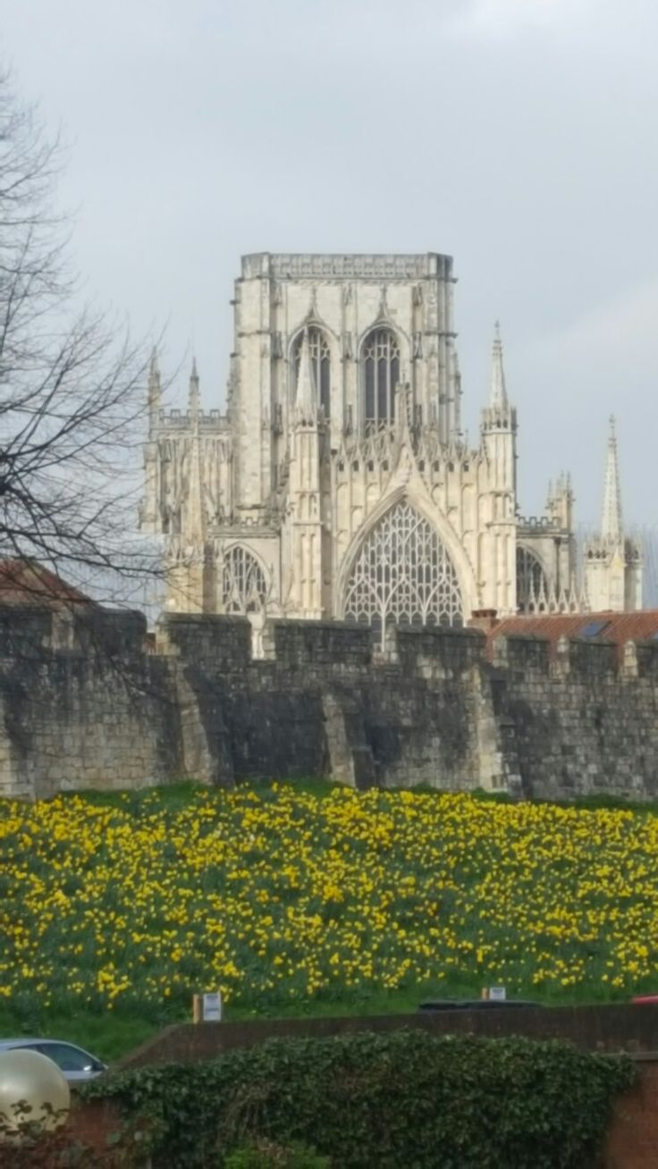York Minster; 1st April.