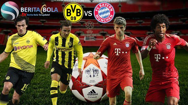 Borussia Dortmund 1 - 3 Bayern Munchen