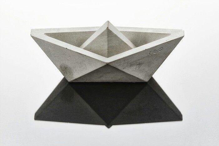 시멘트 종이배