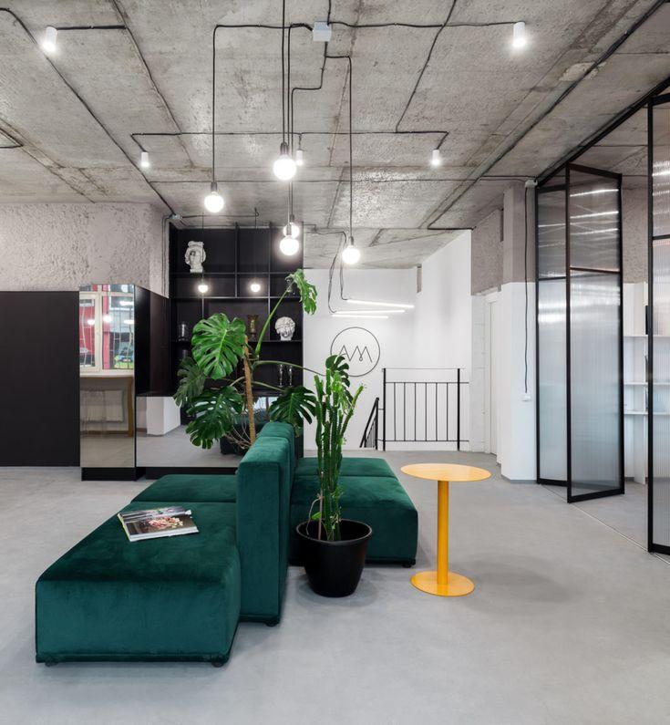 Office in Kiev by MalyKrasota Design | HomeAdore