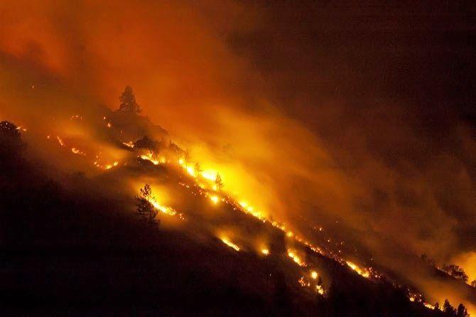 Rowena Fire 2014 | The Dalles Oregon