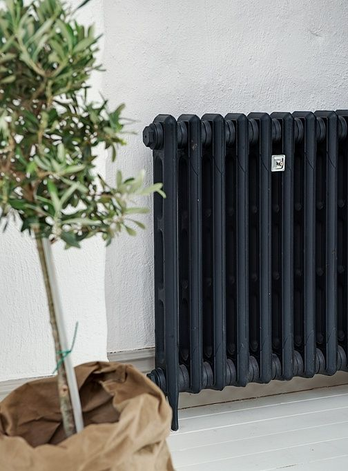 ♥ black radiator