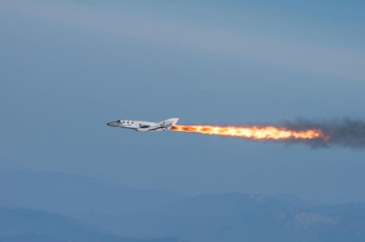 2013-04-29 First Mach 1 flight of SpaceShip 2