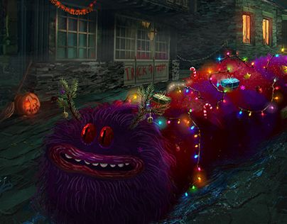 """Check out new work on my @Behance portfolio: """"Christmas Bug is coming"""" http://be.net/gallery/44713579/Christmas-Bug-is-coming"""