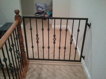 Baby Gates Traditional Staircase Las Vegas Jd