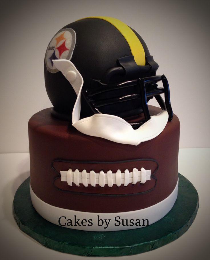 Steelers football helmet