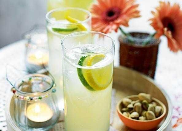 A refreshing sparkling cocktail to share which can be made with or without vodka – perfect for Mother's Day