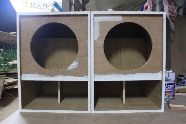 Free Speaker Plans: J-bin reflex horn (3/5)