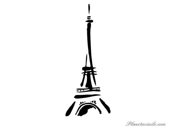 Eiffel Tower tattoo idea