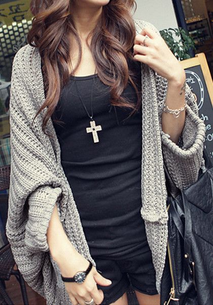 Shawl Knit Wear - Chunky Knit Wear