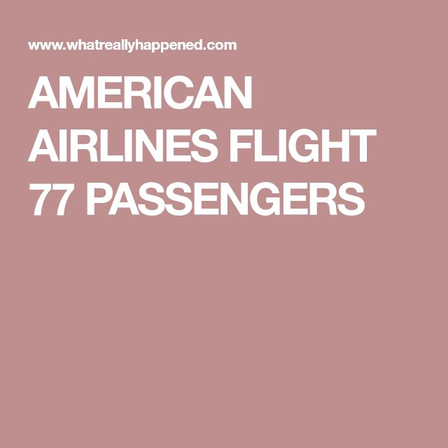American airlines flight 77 on Pinterest | 9 11 planes, 9 ...