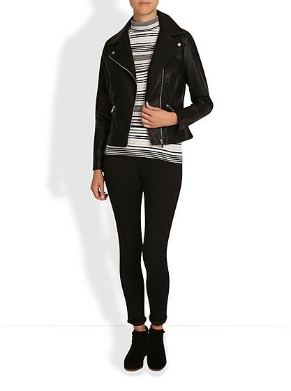 Biker Jacket , read reviews and buy online at George at ASDA. Shop from our latest range in Women. Bring back 60s cool with this trendy biker jacket. Featuri...