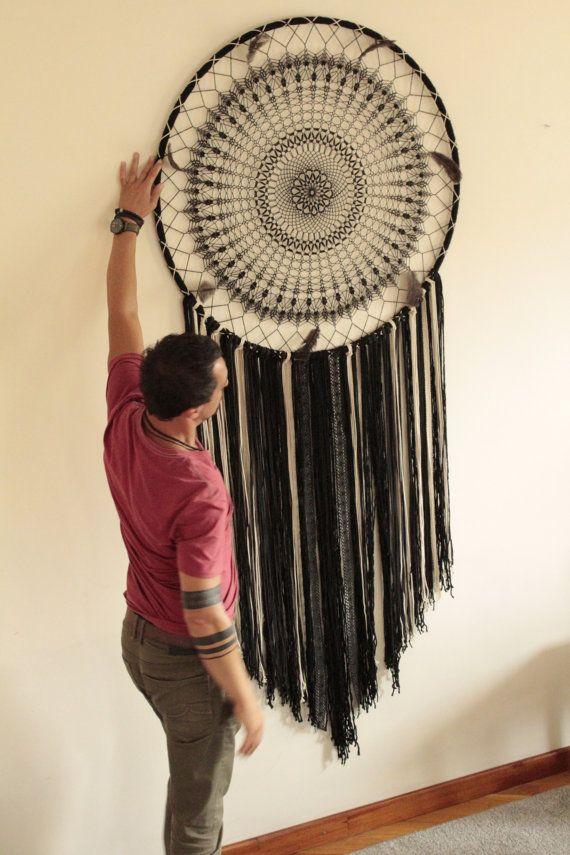 17 meilleures id es propos de toile de capteur de r ve sur pinterest peinture attrape r ves. Black Bedroom Furniture Sets. Home Design Ideas