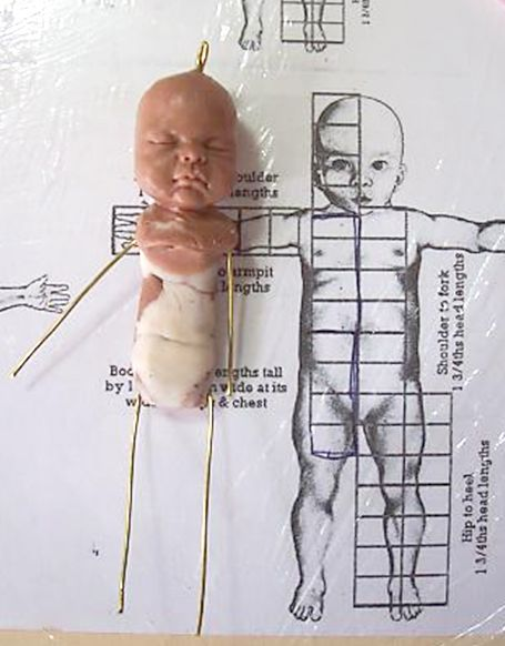 OOAKGuild.com ~ The OG ~ One of A Kind Art Dolls & Sculptures › OG Library › How to Sculpt a Baby Tutorial