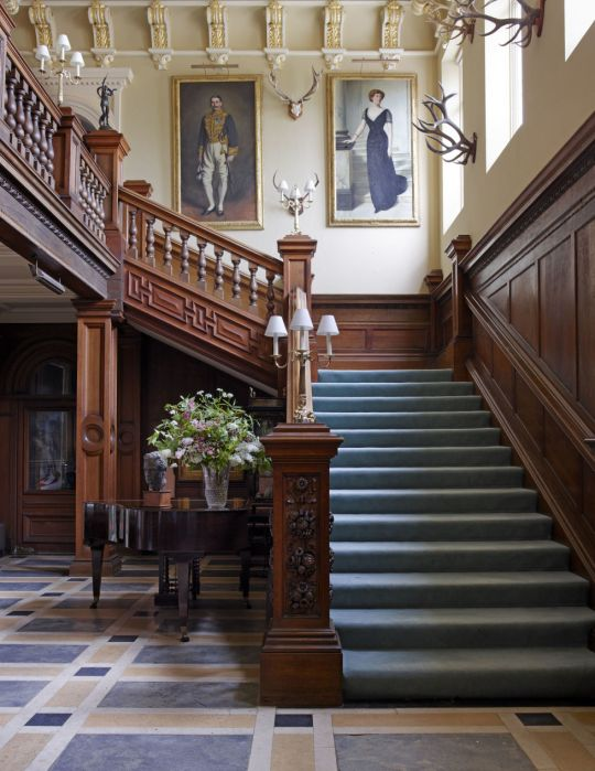 Grand Foyer In English : Best interiors entry hall stairs and foyer images