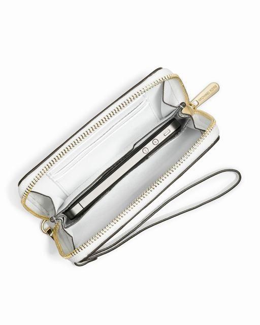 Michael Kors Iphone ® 5 4s 4 Und Multifunktions-Tasche Weiß Saffiano 0 #bags#jewellery #jewellerydesign}