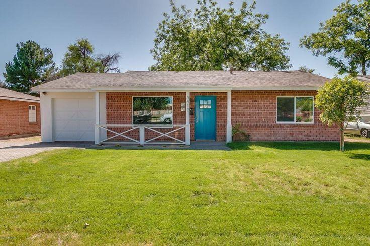 See this home on @Redfin! 3512 N 27TH St, Phoenix, AZ 85016 (MLS #5608674) #FoundOnRedfin #arcadia #phoenix #home #realtor #buy #farmhouse #modern #blue #teal #brick #design #dream #movein #house #grass #yard