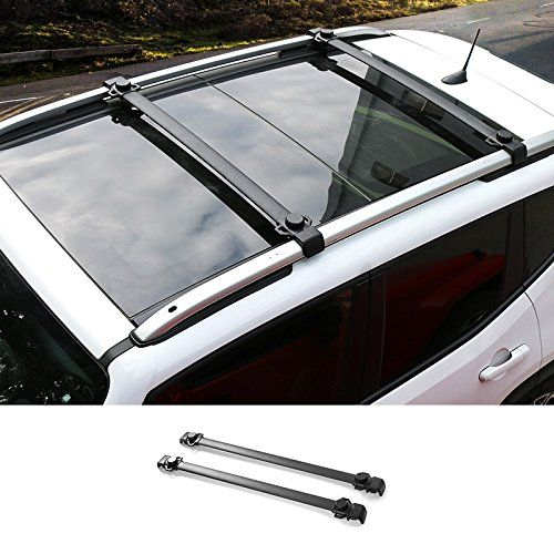 Pair Car Roof Rack Cross Bars Luggage Carrier for Jeep Renegade | Build The Jeep