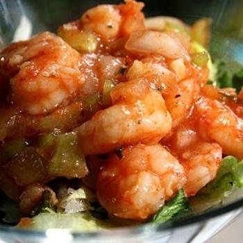 Spicy Marinated Shrimp Appetizer