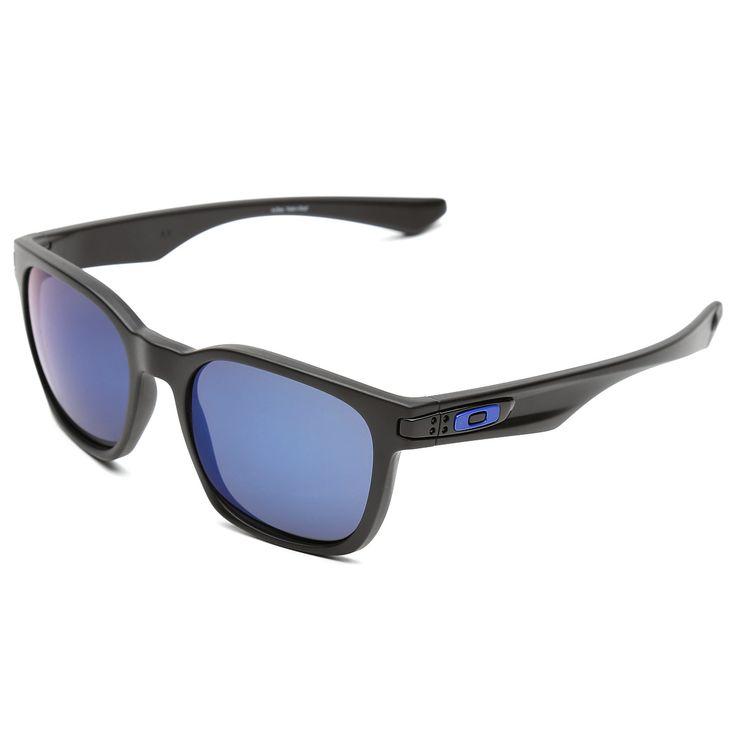 Óculos Oakley Garage Rock - Polarizado Azul e Preto | Netshoes