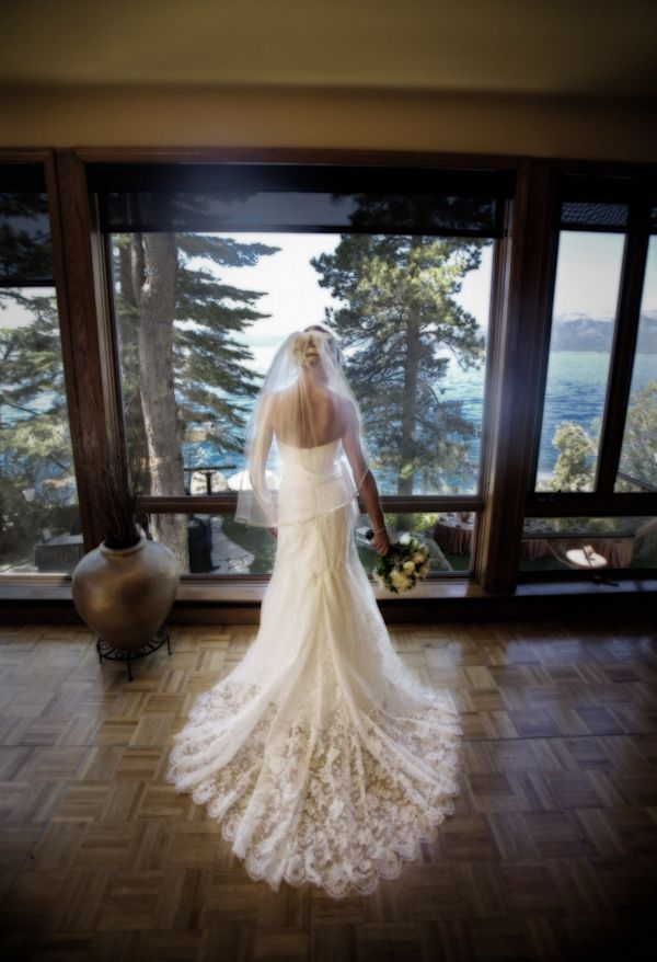 Thunderbird Lodge Wedding by Catherine Hall Studios and Merrily Wed | TahoeUnveiled.com @Catherine Hall Studios @Monique Lhuillier