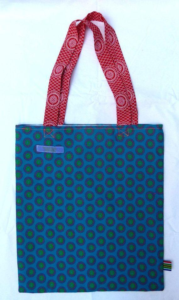 Apolline Shopper  Shweshwe cotton  Lined  by MathildeAndCo on Etsy, £12.00