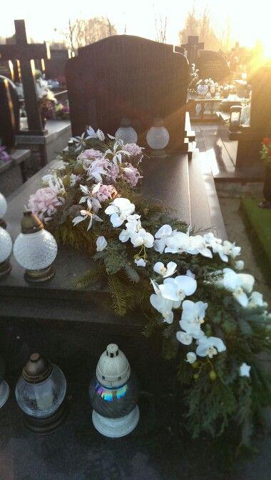 Dekoracja funeralna... Boże Narodzenie 2015