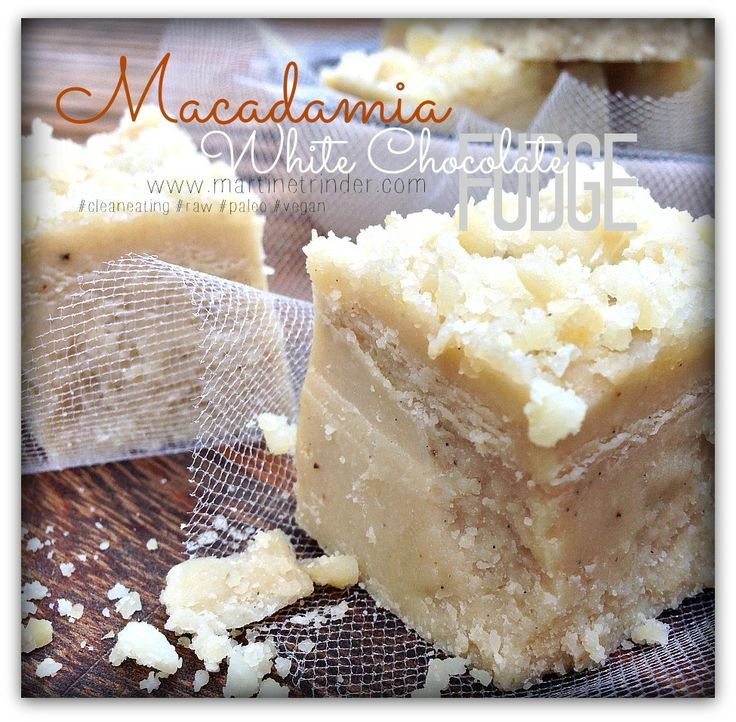 Macadamia White Chocolate Fudge