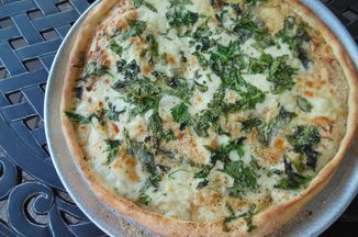 Caesar Spinach Pizza IN ABOUT AN HOUR! Recipe on Food52 recipe on Food52