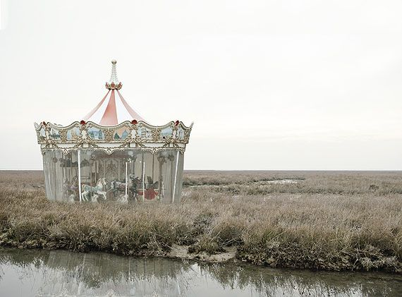 """Silvia Camporesi - from the series """"The Third Venice"""" - carousel"""